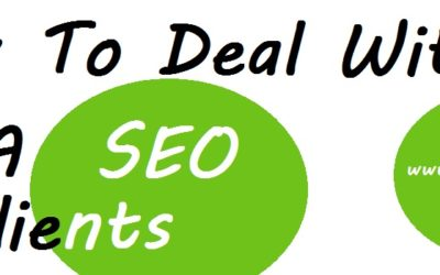 How to deal with a seo client