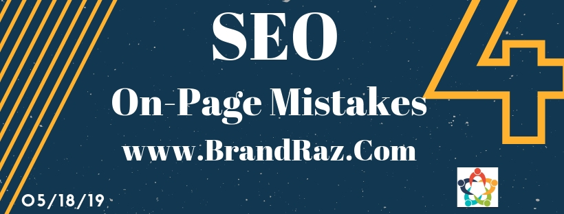Beginners On Page SEO Mistakes