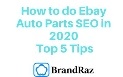 How to do Ebay Auto Parts SEO